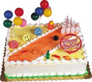 Bowling Birthday Cake Kit