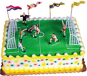Soccer Match Cake Kit