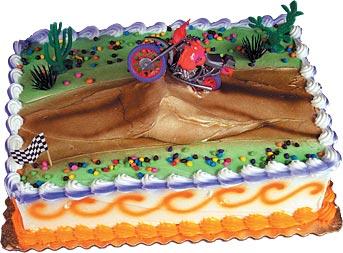 Motorcross Cake Kit