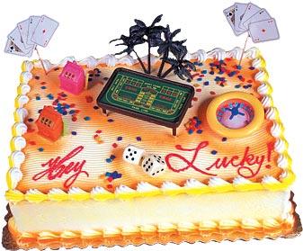 Casino Cake Kit