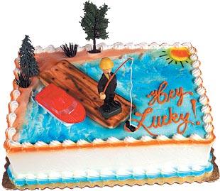 Lucky Fisherman Cake Kit