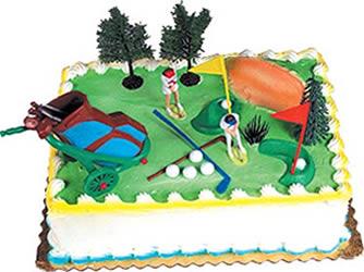 Golfer's Paradise Cake Kit
