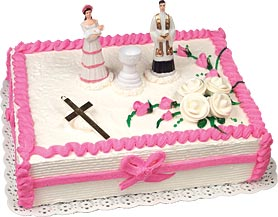 Christening Girl Cake Kit