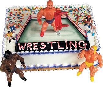Pro Wrestlers Cake Kits