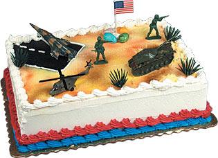 USA Military Pride Cake Kit