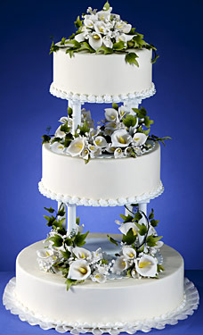 Bouquet Tiers White