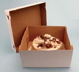 2pc Cake Box 14 X 14 X 6