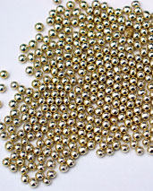 Gold Dragees 3mm
