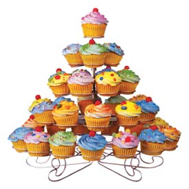 5 Tier Wire Cupcake Stand