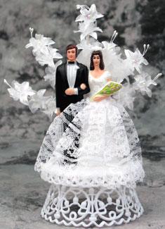 Bride And Groom Floral Spray