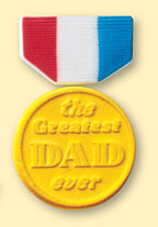 Dad's Day Medal