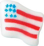 American Flag Sugars