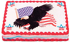 Eagle Edible Image