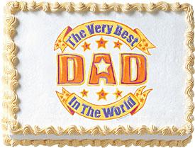 Best Dad Edible Image