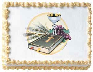 Communion Edible Image
