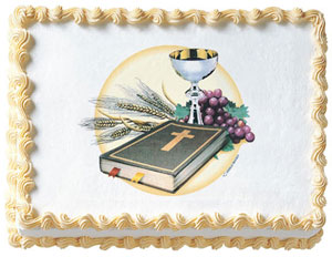Communion Edible Image