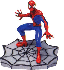 Spiderman On Web Movie TV -