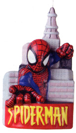 Spiderman Candle Movie TV -