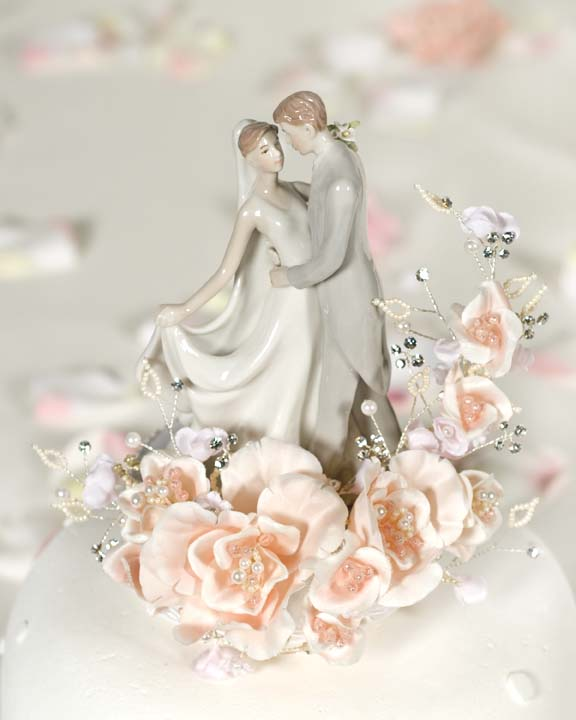 Wedding Cake Toppers Vintage: JustCakeToppers.com