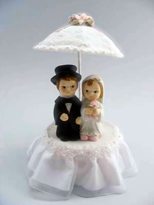 Cute Couple With Parasol