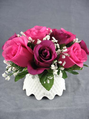 Mauve And Rose Bouquet