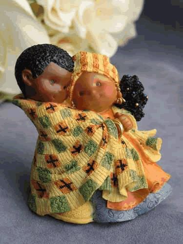 Colorful Ethnic Couple