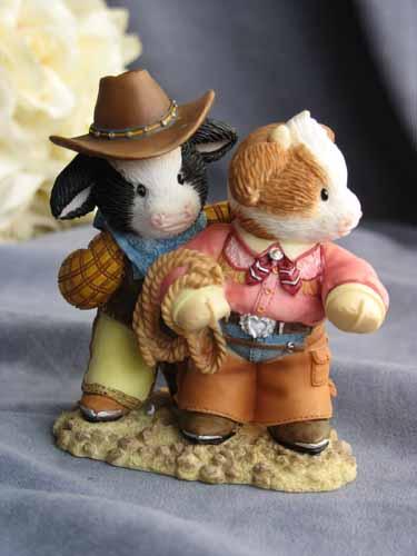 Cowboy Pals Western Cow