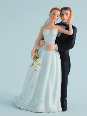 Bridal Couple With Callas
