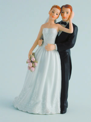 Bridal Couple With Roses