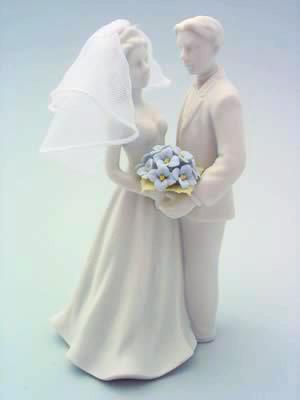 Couple With Hydrangeas