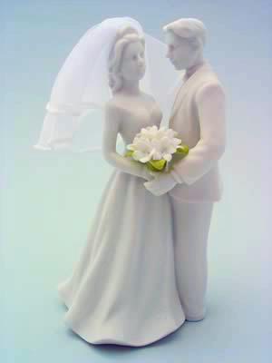 Couple With Stephanotis