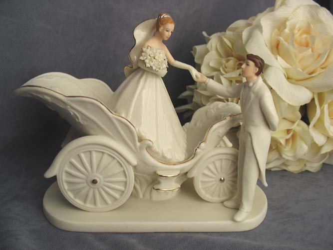 cinderella carriage wedding cake toppers cinderella tale coach justcaketoppers 12851