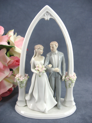 traditional wedding cake toppers newly weds justcaketoppers 8041
