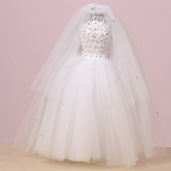 Large Dress White