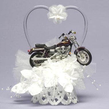 Motorcycle Heart On Base