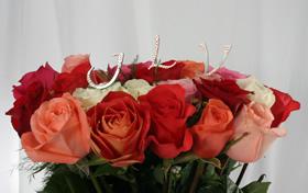Bouquet Pink Fine Hand