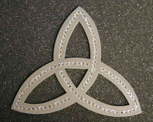 Custom Shapes Celtic Symbol Justcaketoppers