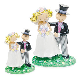 Comical Bride And Groom 6""""