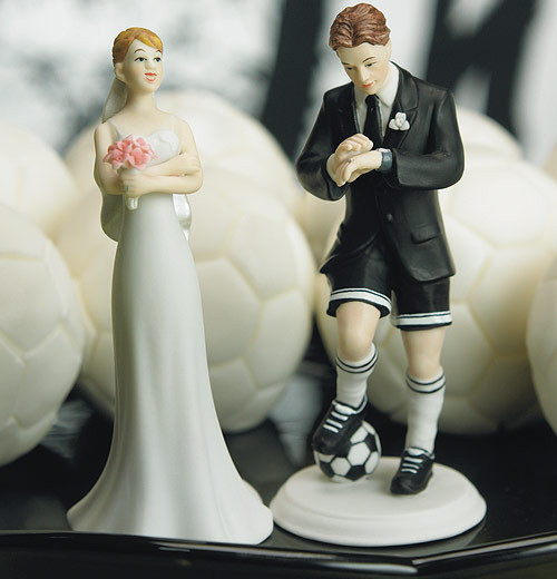 Soccer Player Groom