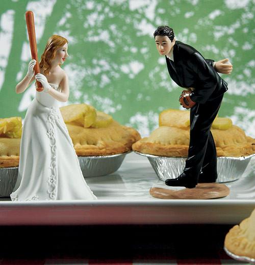 Hit A Home Run Bride